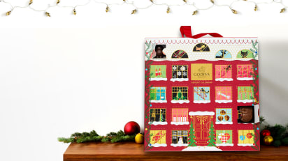 Christmas Chocolate Advent Calendar 2018 Godiva